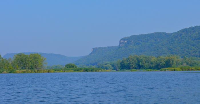 Mississippi river bluffs