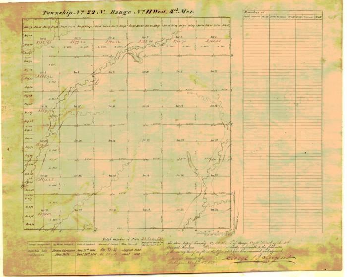 plat map t22n r11w