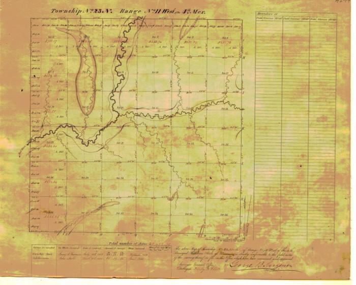 plat map t23n r11w