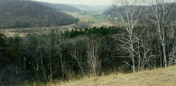 view down praag valley 2000